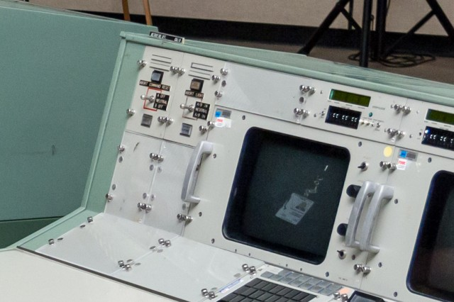Detail of the abort request and abort reset panels on the FDO console today.