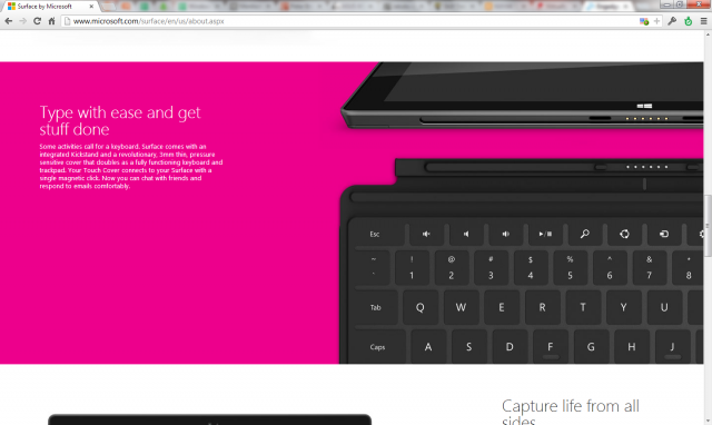 It unfortunately turns out that it won't necessarily come with a keyboard after all.