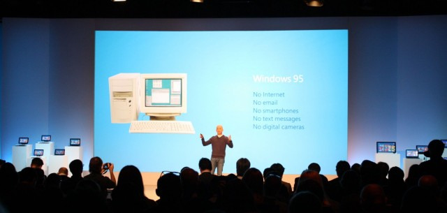 Microsoft President Steven Sinofsky remembers the salad days of Windows.
