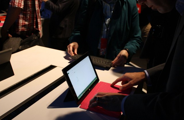 Microsoft's Touch Covers for the Surface take a bit of getting used to.