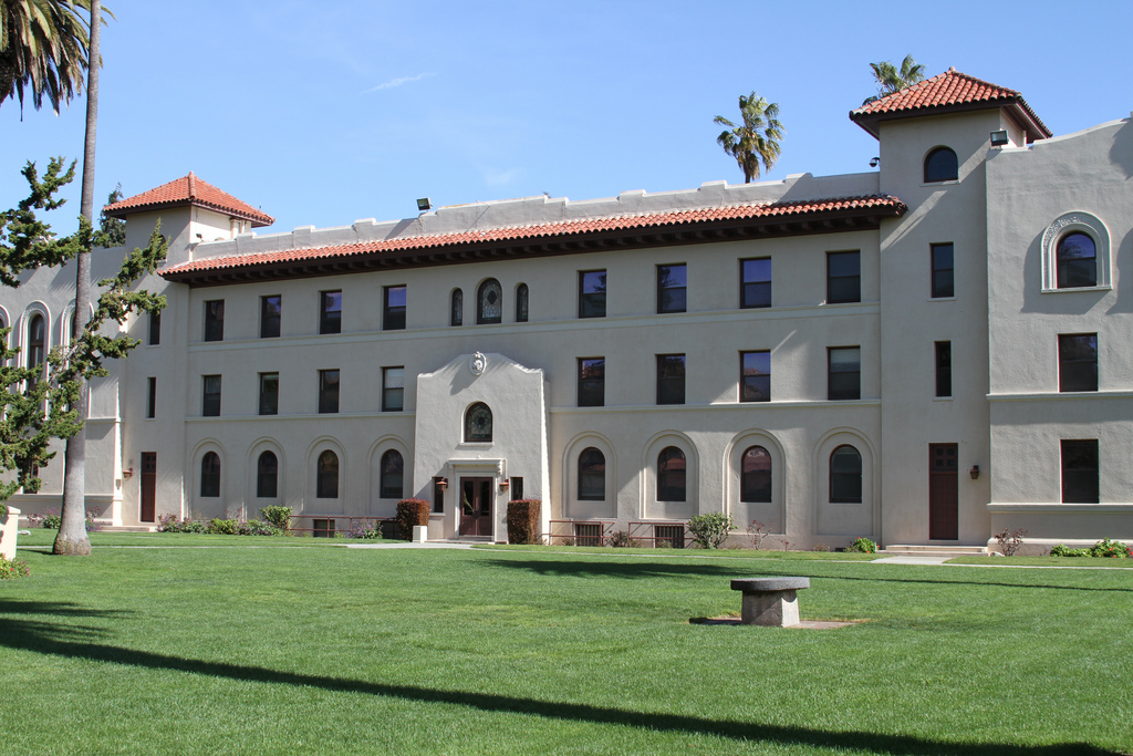 Santa Clara University is a long way from Vienna, Austria.
