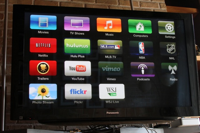 Devices like the Apple TV funnel a number of streaming services, including Netflix and Hulu Plus, to your HDTV.