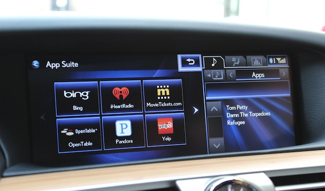 The Enform interface, front and center in the dashboard.