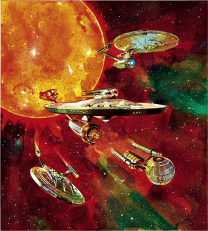 Illustration from <em>Star Trek Federation, the First 150 Years.</em>