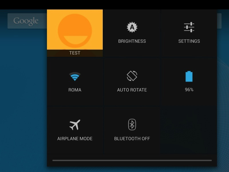 You can also lock the screen and switch users by tapping your user name in the quick settings panel.