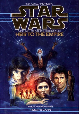The Thrawn trilogy of Star Wars novelizations is one of several fan favorites.