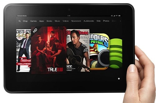 Wi-Fi-only Kindle Fire HD 8.9 now shipping