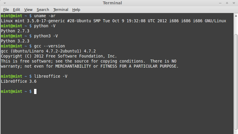 A quick peek under the hood shows the same updated components as Ubuntu Linux 12.10.
