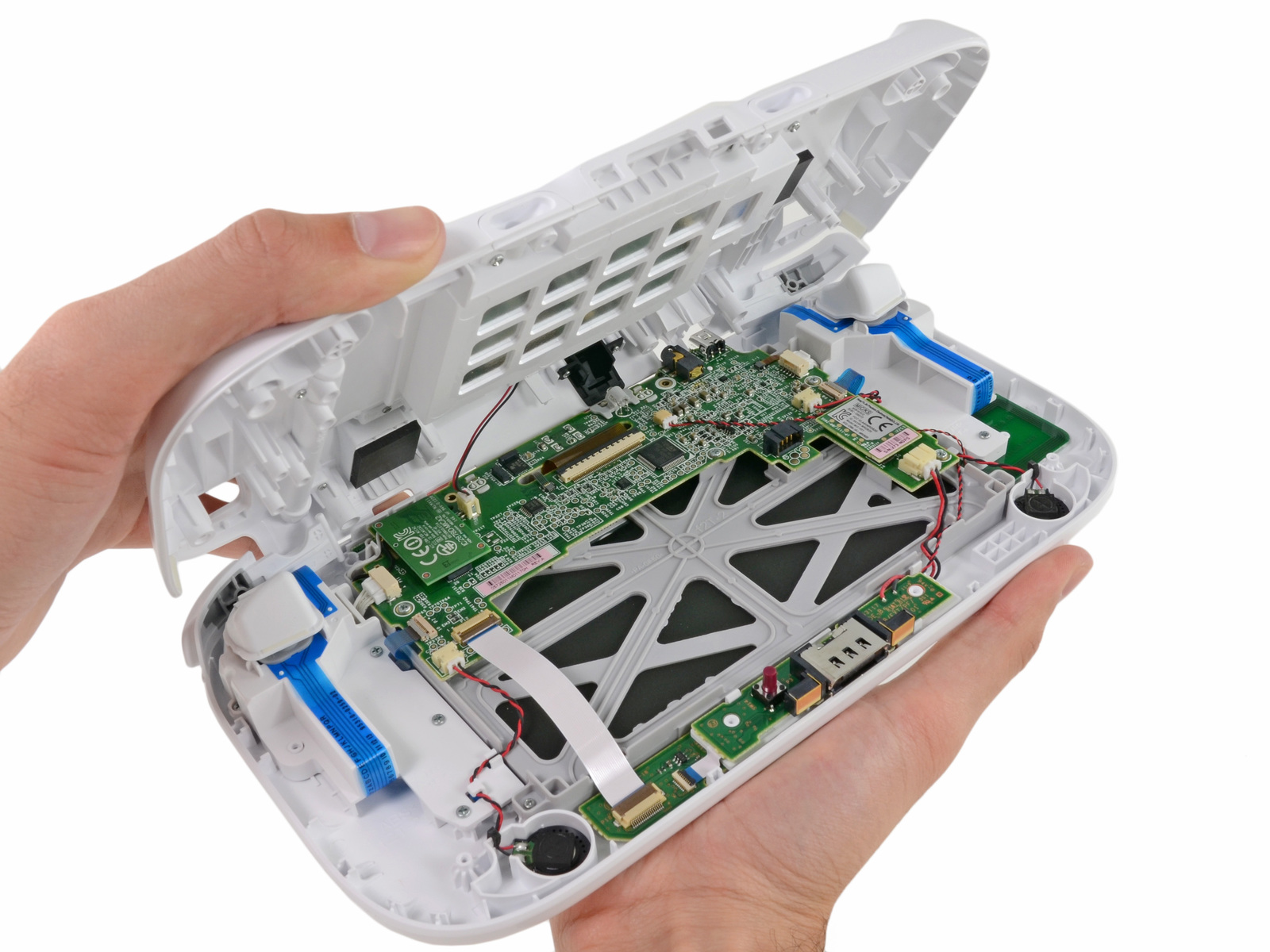 Inside the Wii U GamePad.