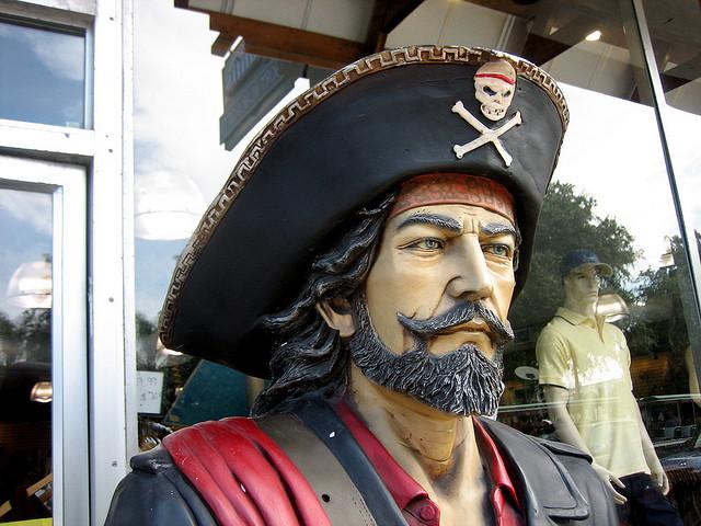 Arrr, matey. I am not a real pirate.