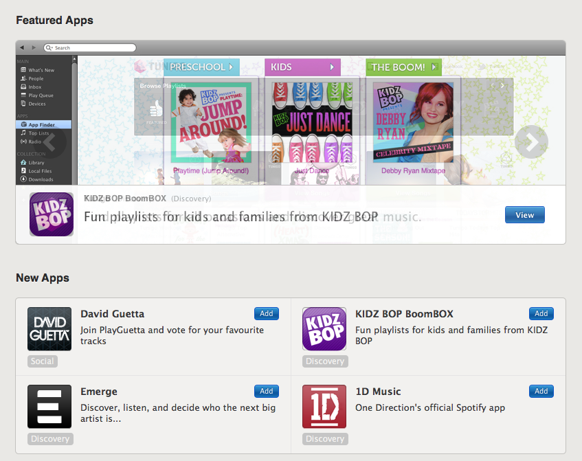 Spotify has apps within its apps. Some are solid, but not all are winners.