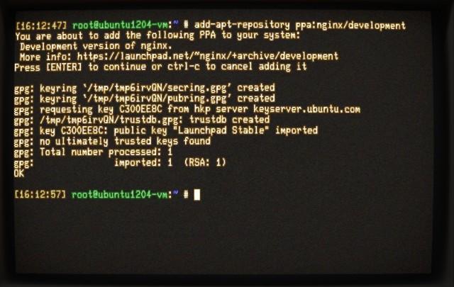 Installing add-apt-repository.