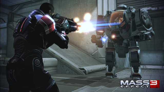 If you can tell the difference between this Wii U screenshot and another version of <em>Mass Effect 3</em>, you have a better eye than I do.