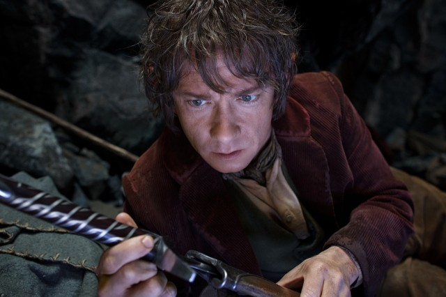 Bilbo's transformation from stay-at-home hobbit to unlikely hero is by necessity more rapid and more overt in the film.