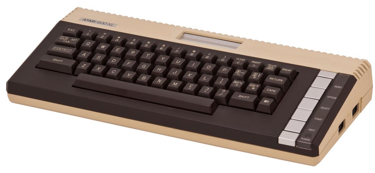 An Atari 600XL.