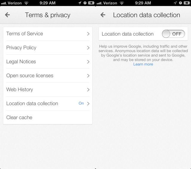 If you don't want Google to save the location of every place you've been, you might want to turn this setting off.