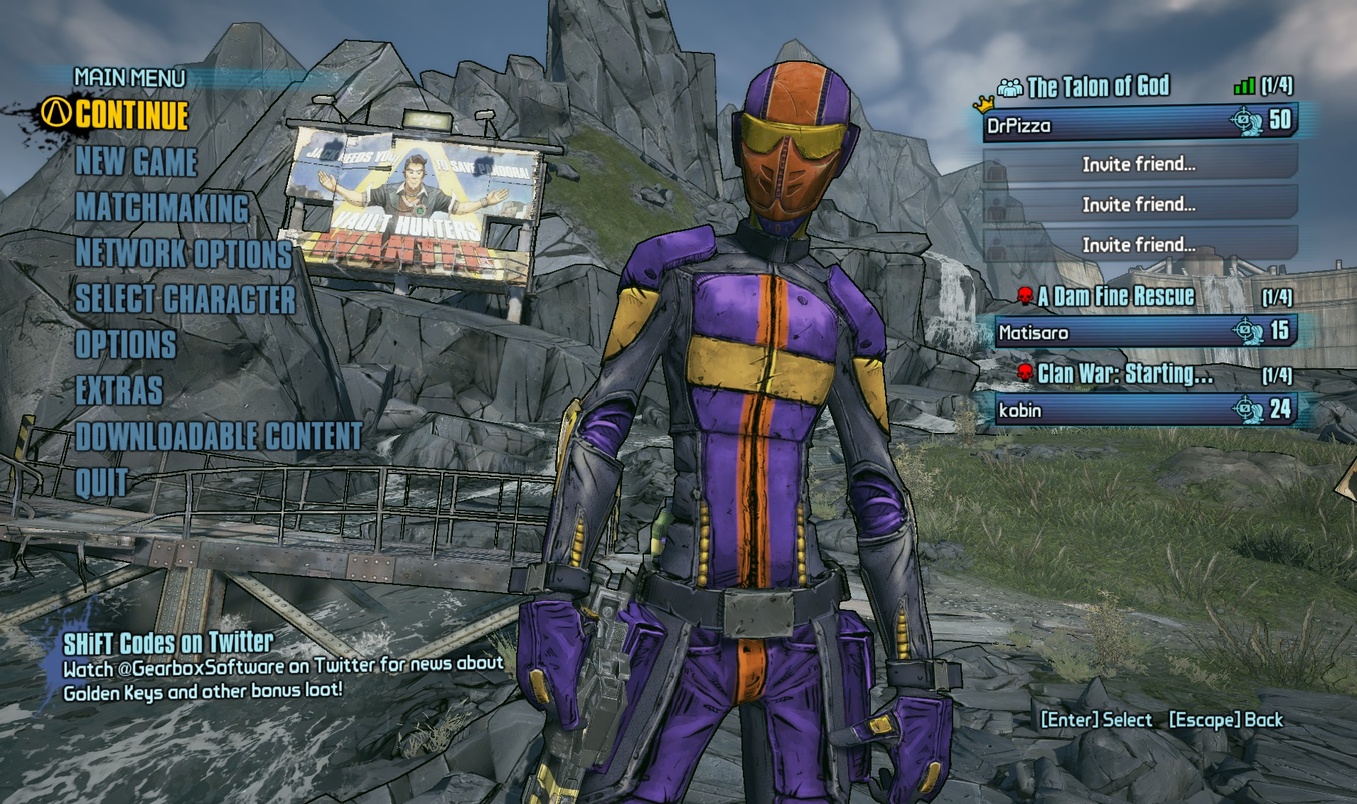 This is my assassin, Zer0, resplendent in his purple magnificence.