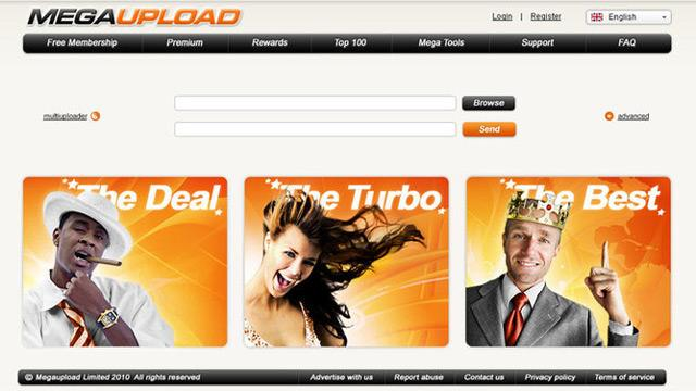 The late, notorious Megaupload.