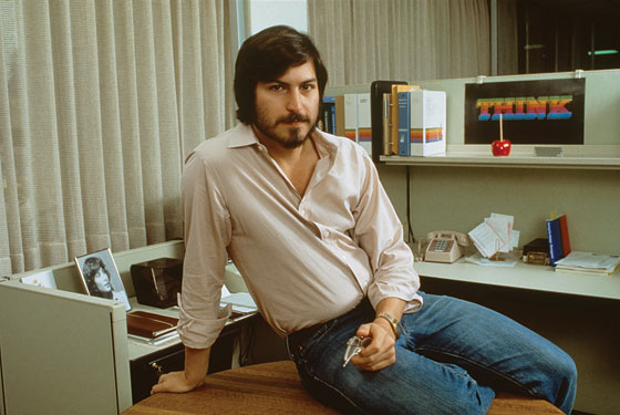 Compare the image above to this one of Steve Jobs in his cubicle at Apple in 1981.