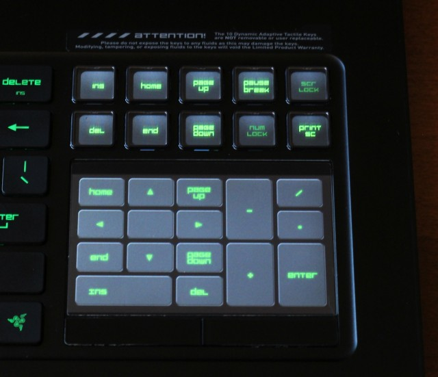 As an extension of the keyboard (both for games and more general tasks), the trackpad and configurable buttons acquit themselves well.