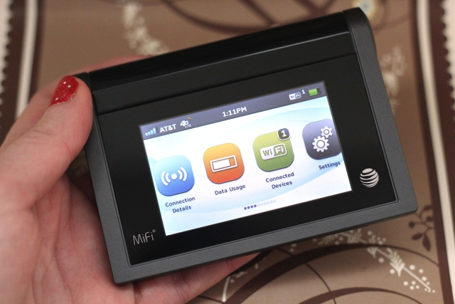 The AT&T MiFi Liberate is a handsome gadget, albeit a bit bulkier than its competitors.