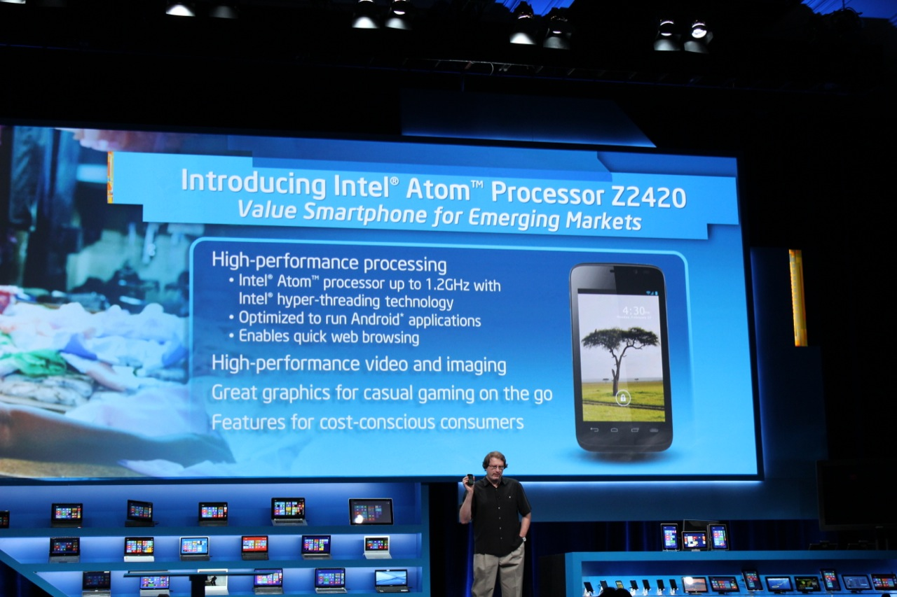 The Atom Z2420 is a new chip intended for emerging markets.