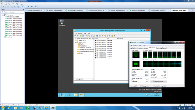 I tell you what I'd do if I had a laptop like this: eleven VMs at the same time.