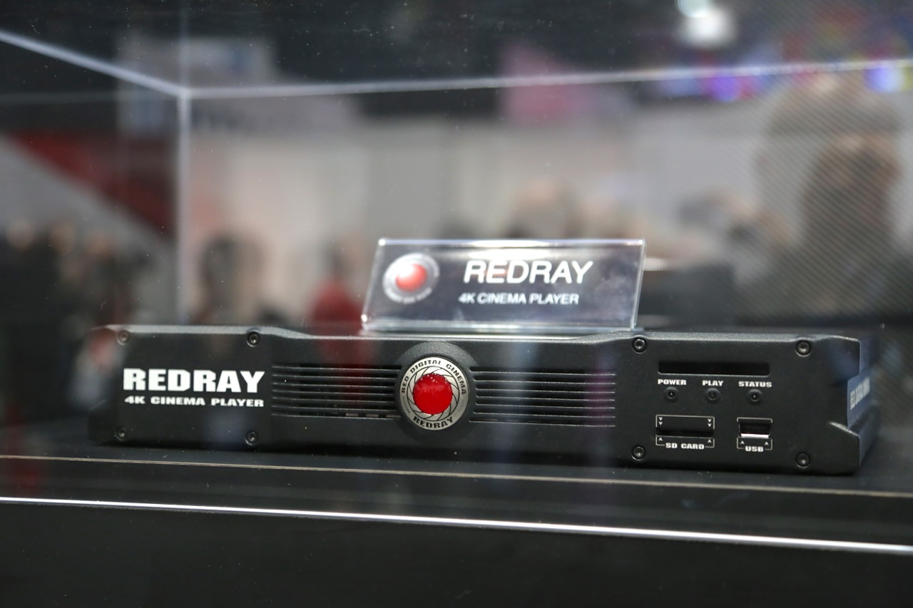 The REDRAY 4K Cinema Player doesn't use plastic shiny discs to deliver native 4K content.
