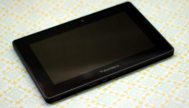 The BlackBerry Playbook is still a thing.