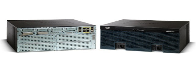 Cisco's 3900 series of routers.