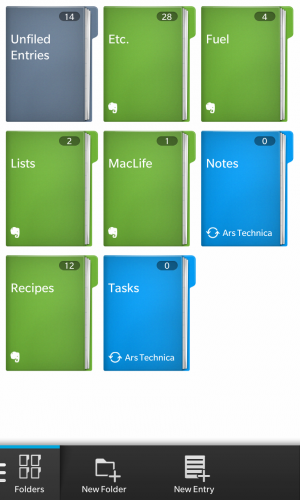 The Remember app integrates with Evernote and your Exchange's Task and Notes functionality.