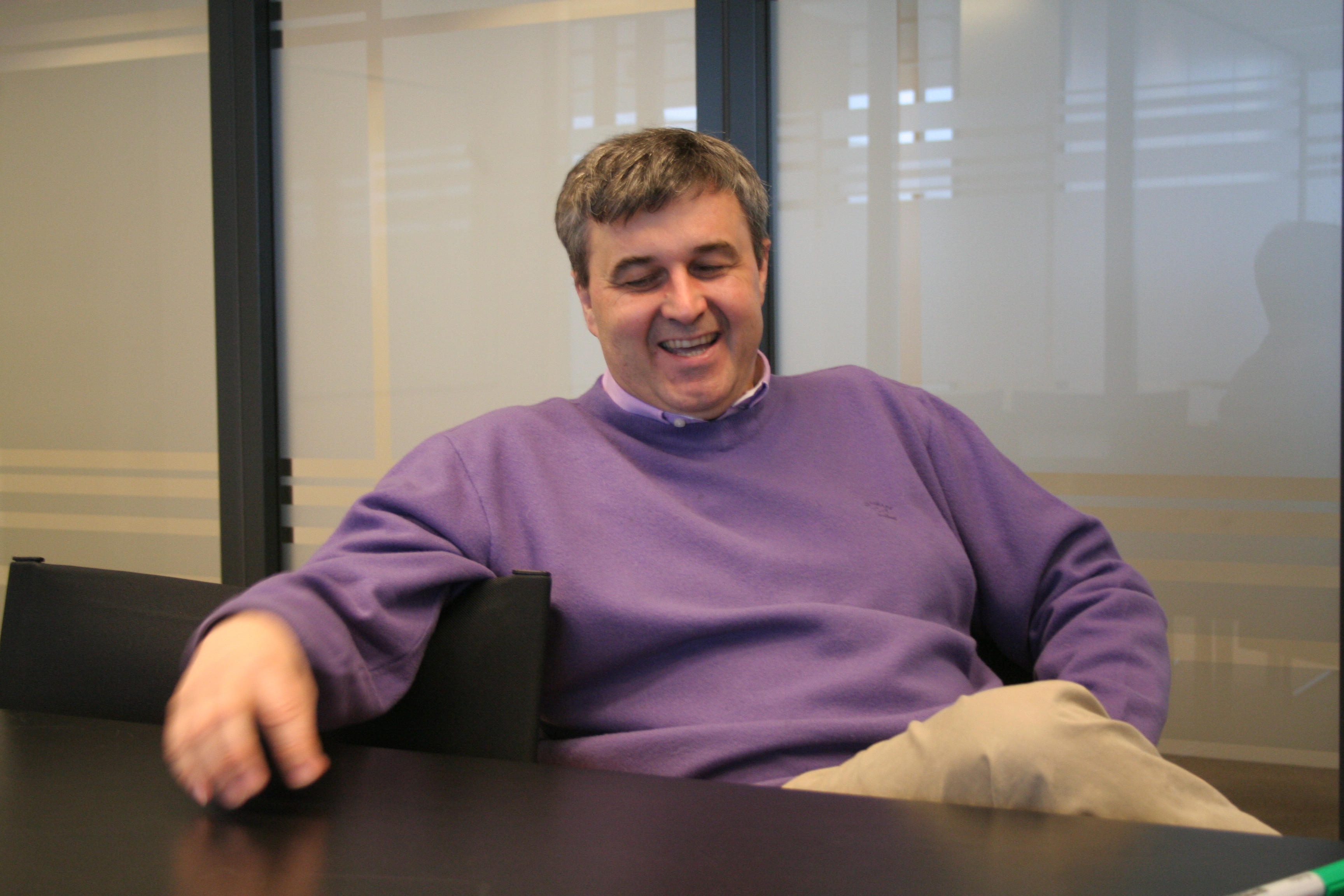 Frank Bekkers, the founder and CEO of Mobile Vikings, hopes he'll have the last laugh against mobile incumbents.