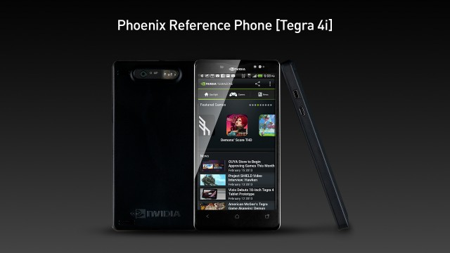 "Nvidia will be using its ""Phoenix"" reference phone to show Tegra 4i off to its partners."