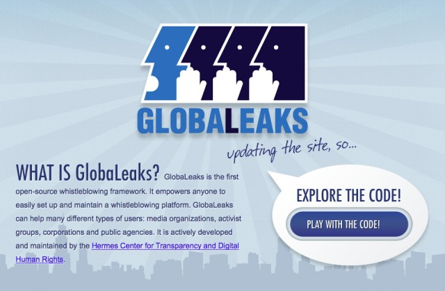 GlobaLeaks plans on releasing its public beta in spring 2013.