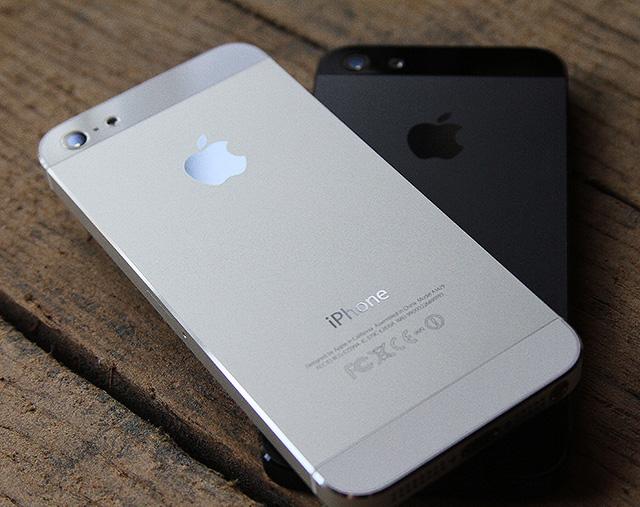 Apple's flagship smartphone.