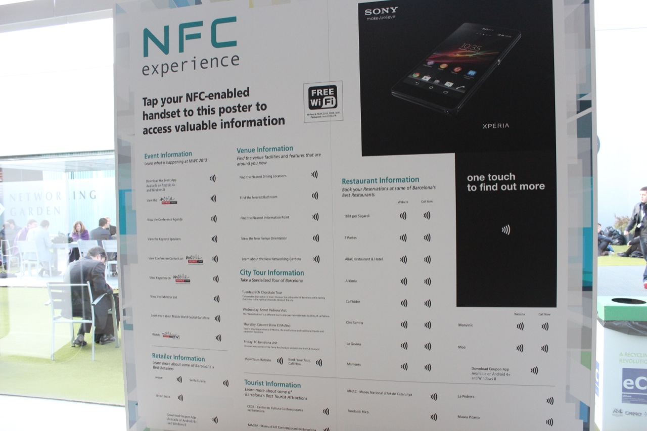 NFC: It's QR codes for the year 2013.