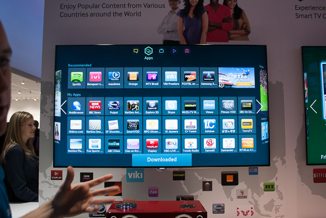 Samsung's smart TV interface. Some sets come with cameras for gesture input and some don't, yet the interface remains the same. Is gesture input really necessary, then?