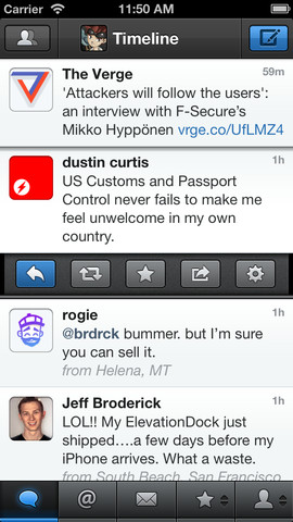 Open your links in Chrome or 1Password from Tweetbot.