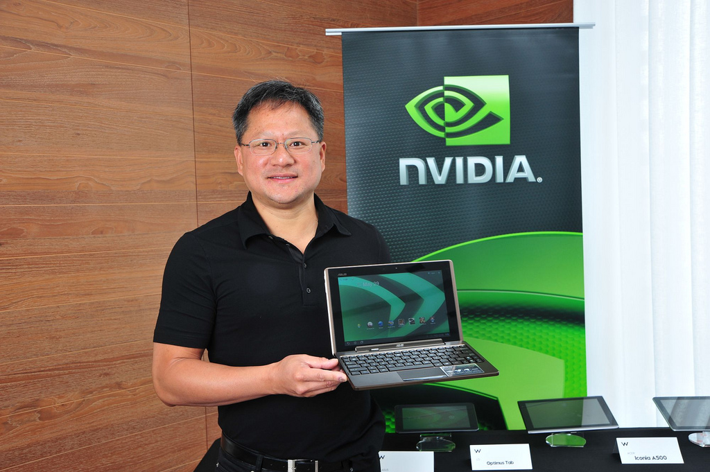 Jen-Hsun Huang, the co-founder and CEO of Nvidia, apparently insisted on being CEO of a joint AMD-Nvidia—a deal that never came through.