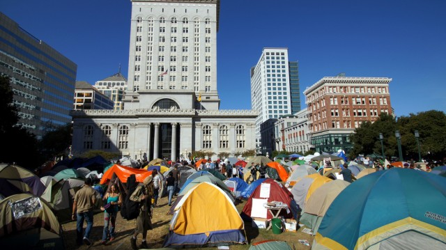 Occupy Oakland consumed a lot of the city's attention toward the end of 2011.