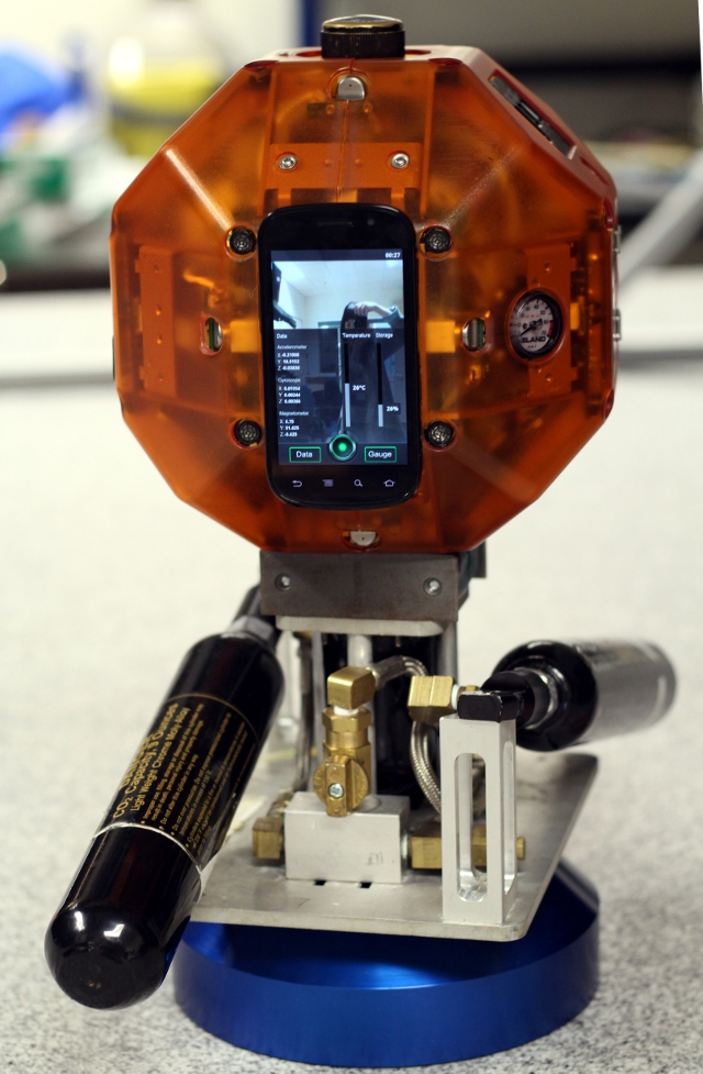 How NASA got an Android handset ready to go into space