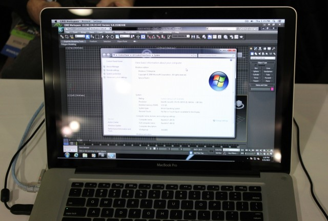 Among other things, the VCA allows users to run high-end Windows workstation applications on Macs and computers with limited processing power.