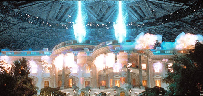 Artist's conception of events in <em>Independence Day 2</em>.
