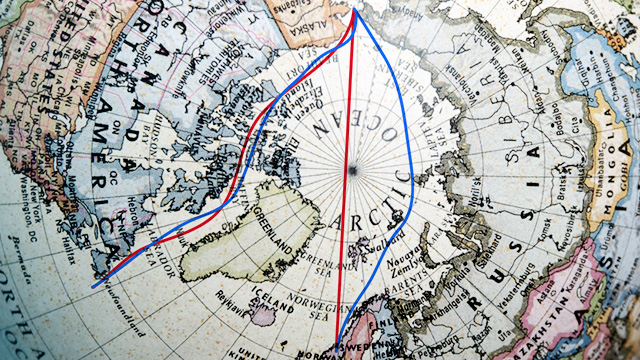 North Pole may be open enough for reinforced shipping by mid-century