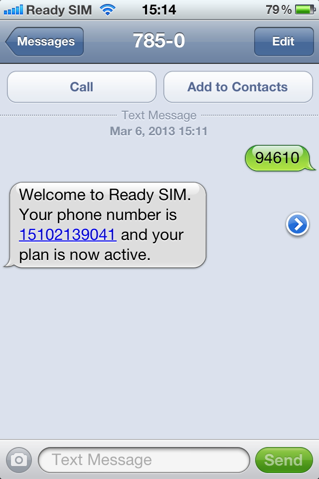 It's insanely easy to activate a Ready SIM card.