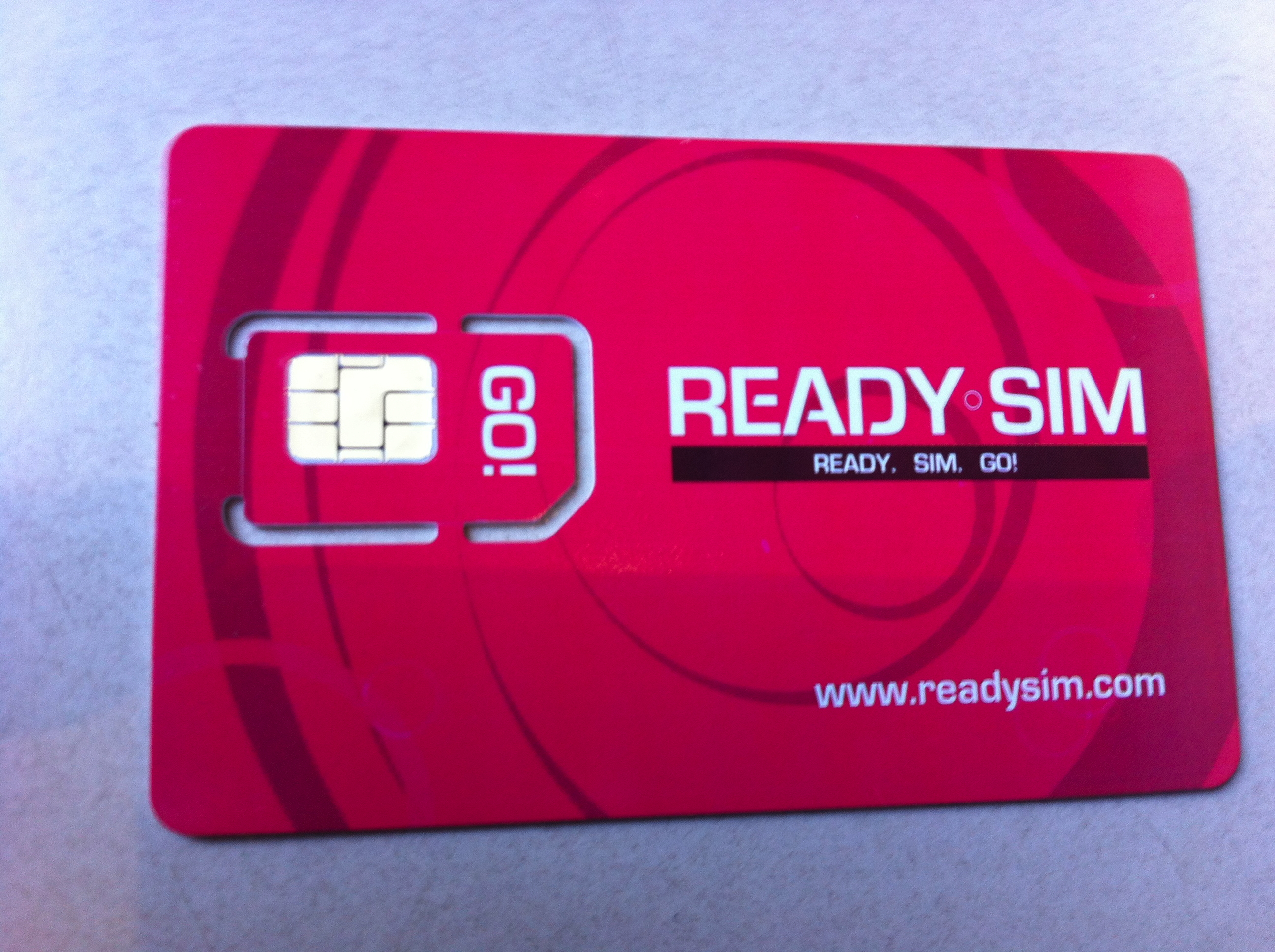 Unfortunately, Ready SIM does not yet offer SIM cards in micro or nano form factors.