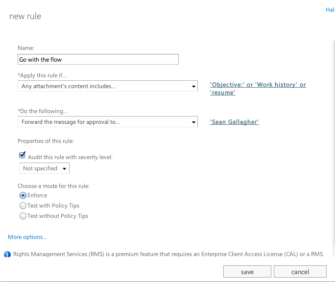 trigger word e mail monitoring gets easy in office 365