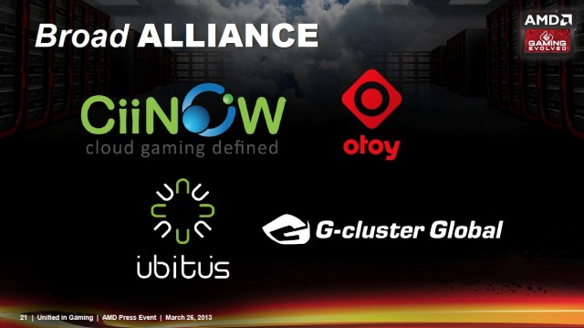 AMD's list of partners so far consists mostly of small or foreign companies, but Nvidia has that problem too.