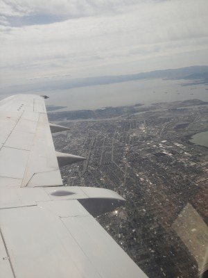 A photo of the Bay Area from a Boeing 747...
