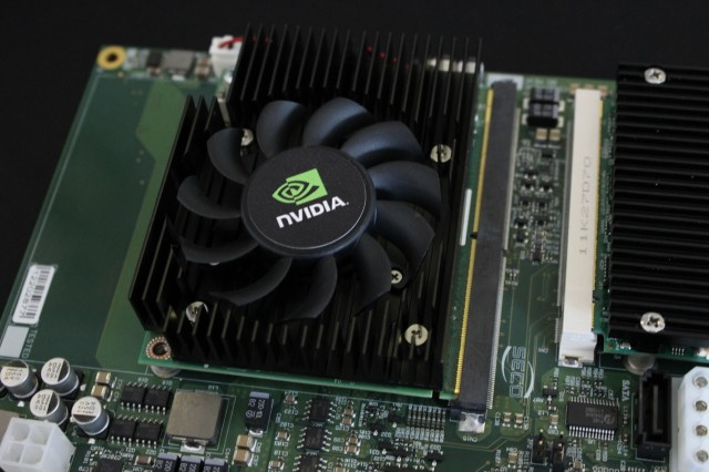 "Nvidia's ""<a href=""http://arstechnica.com/gadgets/2013/03/from-smartphone-to-server-room-nvidias-kayla-shows-the-future-of-tegra/"">Kayla</a>"" platform is a Tegra-equipped motherboard aimed at developers."